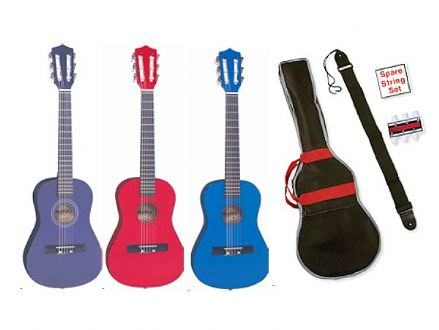 Classical Guitar Outfits (Purple, Red, Natural, Black and Blue available)